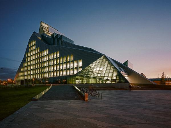 Национальная библиотека. Рига, Латвия.