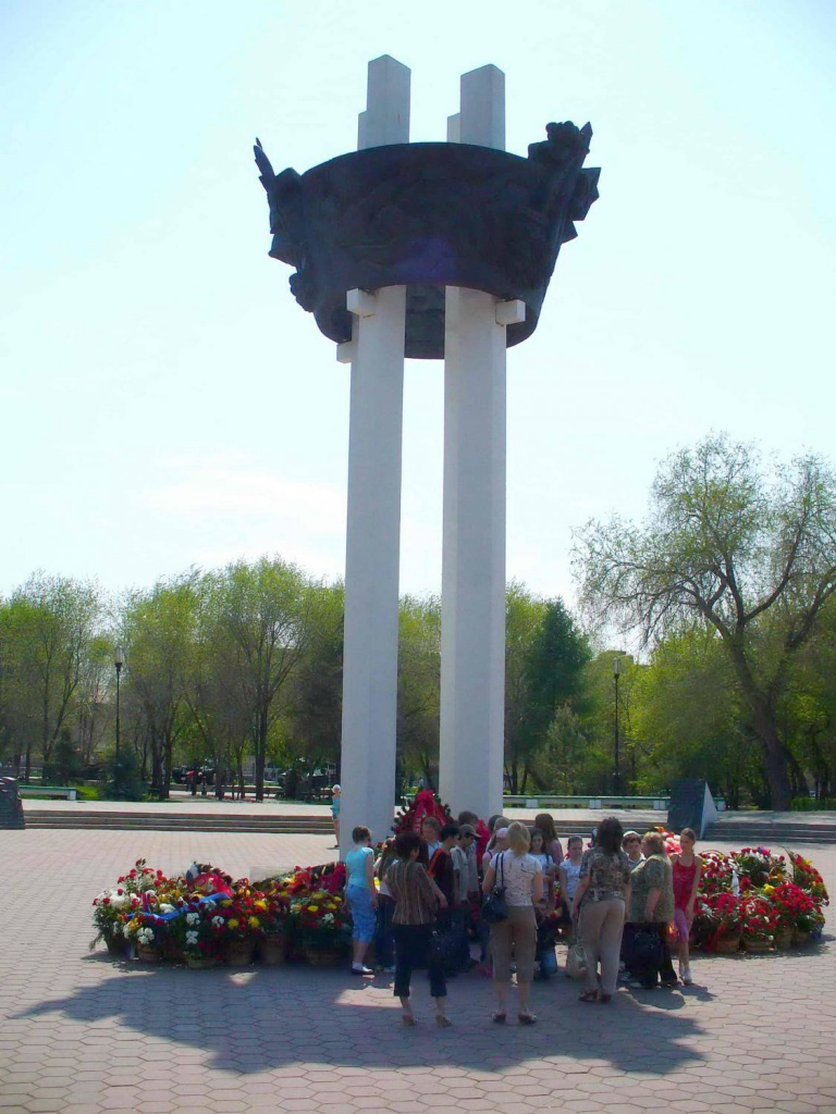 "монумент \""Павшим за Советскую Родину\"""