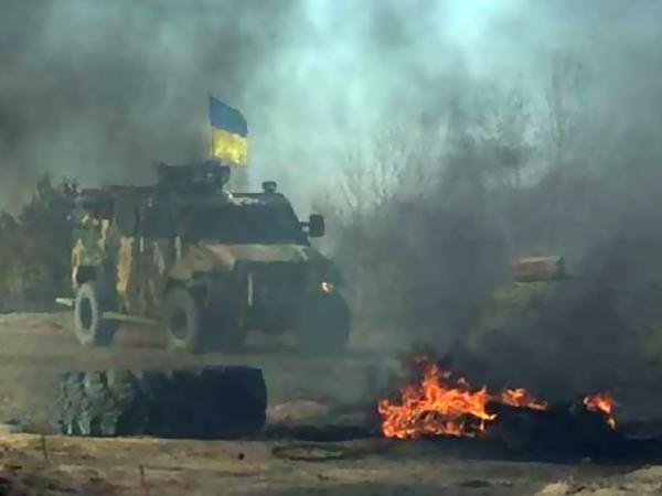 В Донецке вновь слышны звуки работы тяжелых орудий