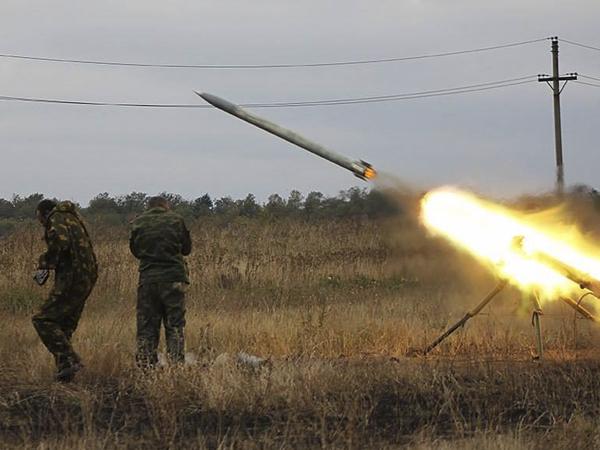 ВСУ применили реактивную установку против Народной милиции ЛНР