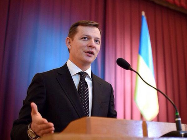 Народный депутат Украины Олег Ляшко.