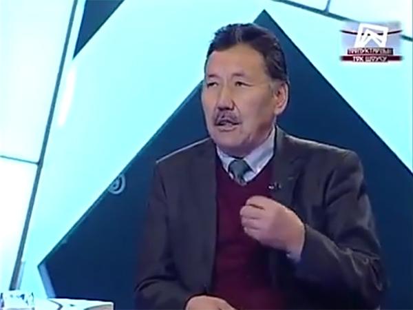 Председатель Национального союза писателей Киргизии Абдрахман Алымбаев.