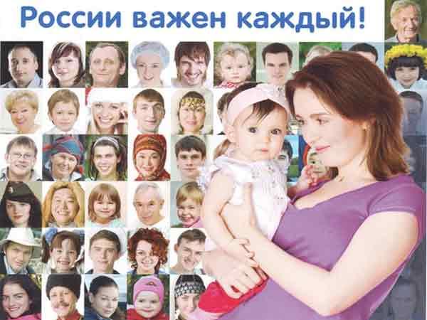 Перепись населения России.