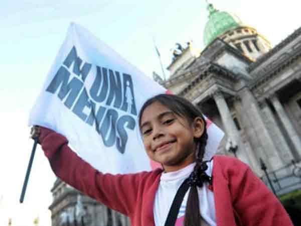 Аргентина протестует против насилия над женщинами
