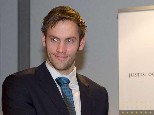 Государственный секретарь Министерства юстиции Норвегии Видар Брейн-Карлсен.