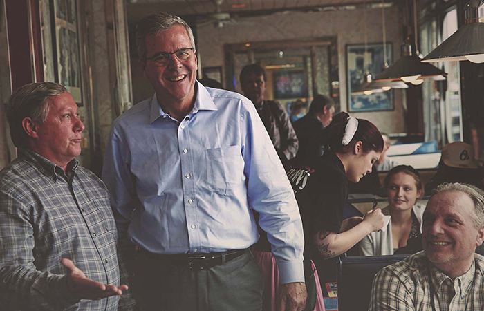 Сын 41-го президента США Джеб Буш.