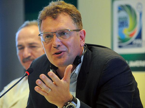 Генеральный секретарь Международной федерации футбола (ФИФА) Жером Вальке.