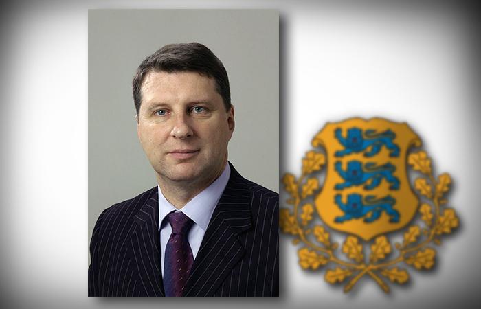 Президент Латвии Раймонд Вейонис. Коллаж ИА REGNUM