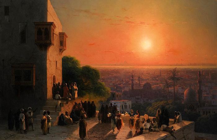 «Вечер в Каире» (И. Айвазовский)