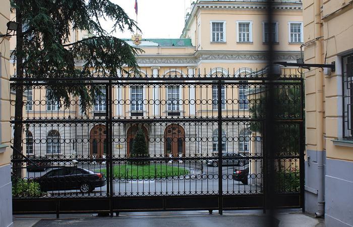 Генконсульство РФ в Турции.