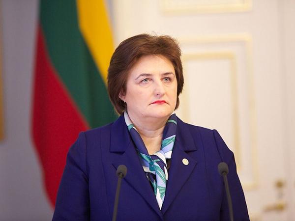 Спикер Сейма Латвии Лорета Граужинене.