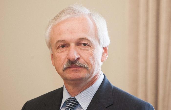 Министр хозяйства Литвы Эвалдас Густас.