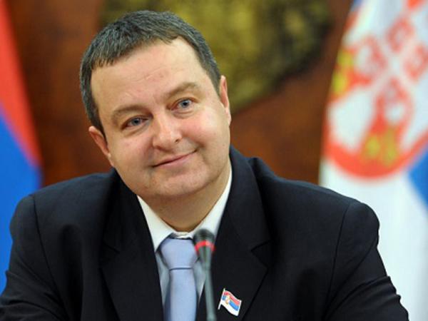 Министр иностранных дел Сербии Ивица Дачич.
