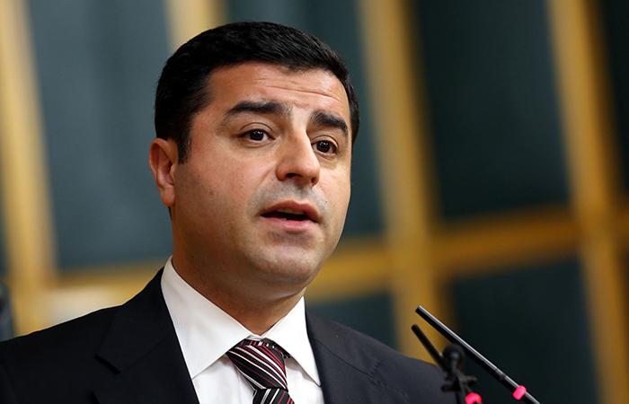 Сопредседатель прокурдской Демократической партии народов (ДПН) Селяхаттин Демирташ.