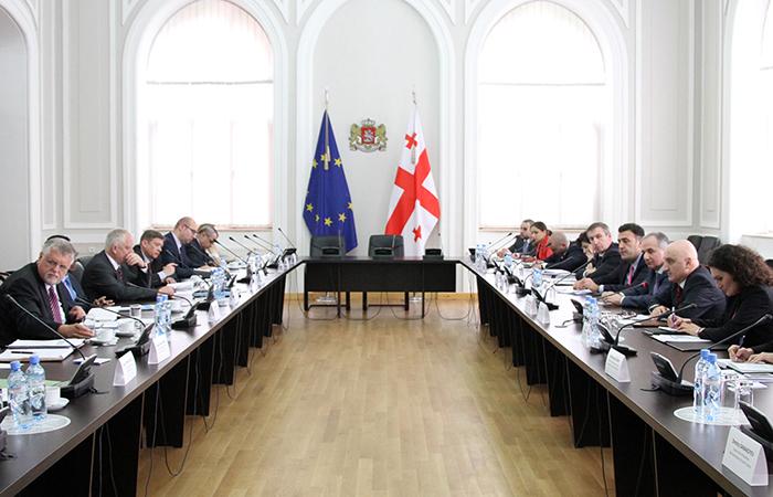 Представители Грузии встретились с сопредседателями Женевских переговоров