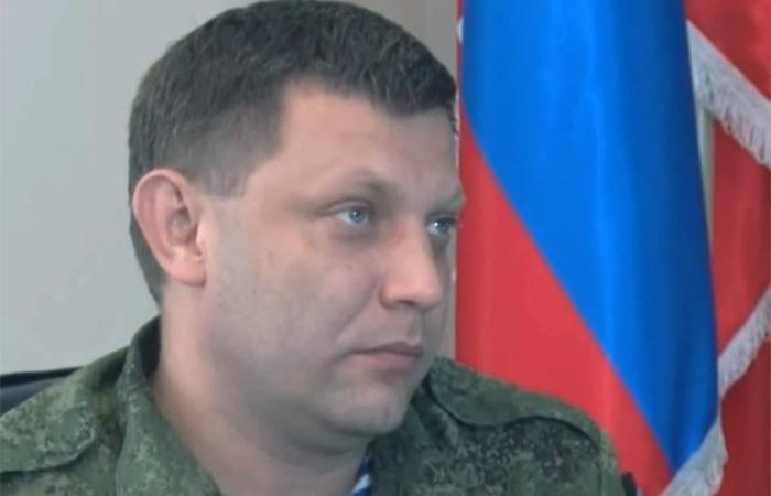 Глава ДНР Александр Захарченко. Кадр: youtube.com