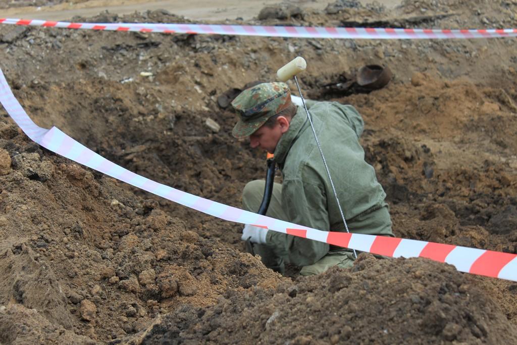 Останки 12 защитников Воронежа обнаружены на стройплощадке