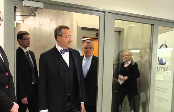 Президент Эстонии в Австрии обсудит отношения ЕС и США с Россией