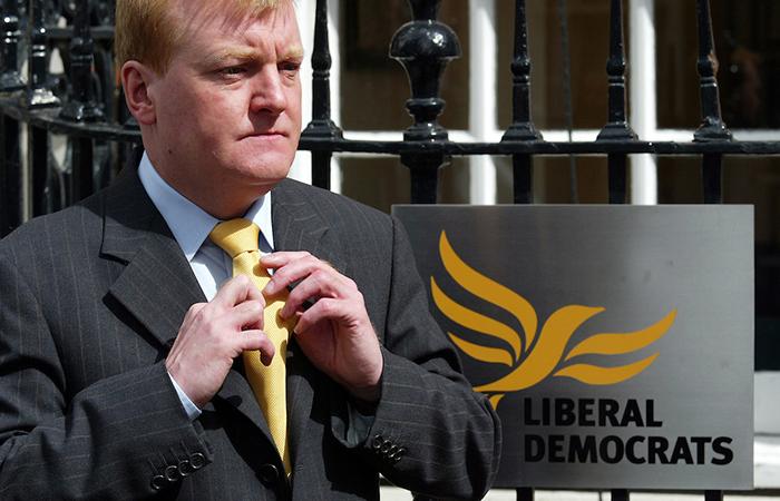 Лидер британской партии либерал-демократов Чарльз Кеннеди.