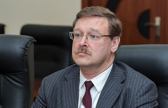 Председатель комитета по международным делам Совета Федерации Константин Косачев.
