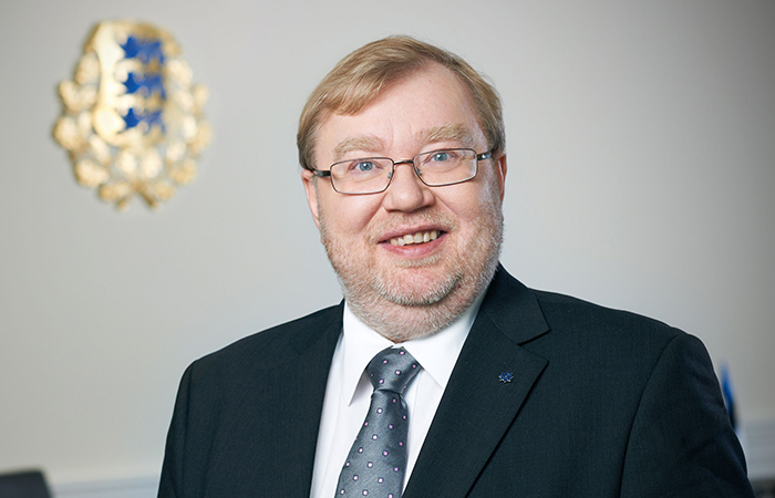 Бывший премьер-министр Эстонии Март Лаар.