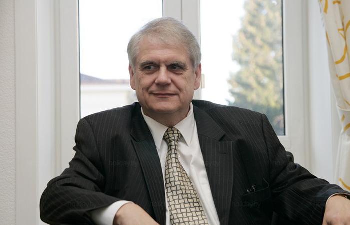 Посол германии в Белоруссии Вольфрам Маас.