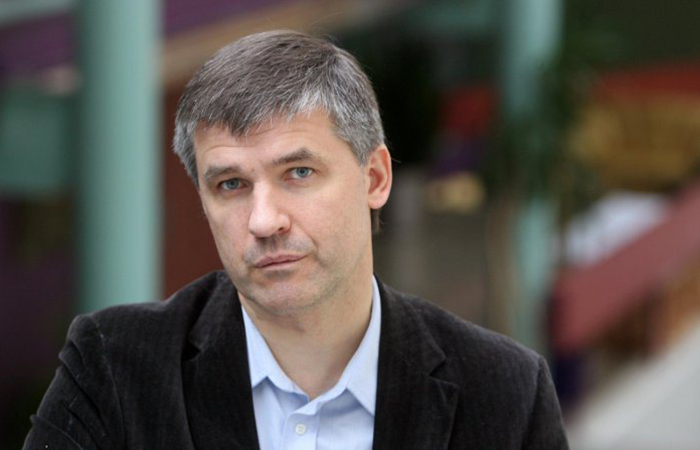 Литовский политолог Альвидас Медалинскас.