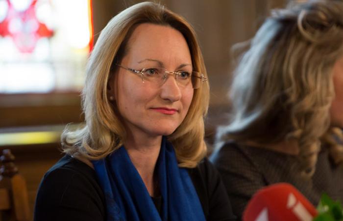 Министр культуры Латвии Даце Мелбарде.