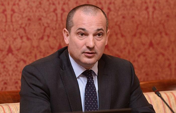 Министр юстиции Хорватии Орсат Миленич.