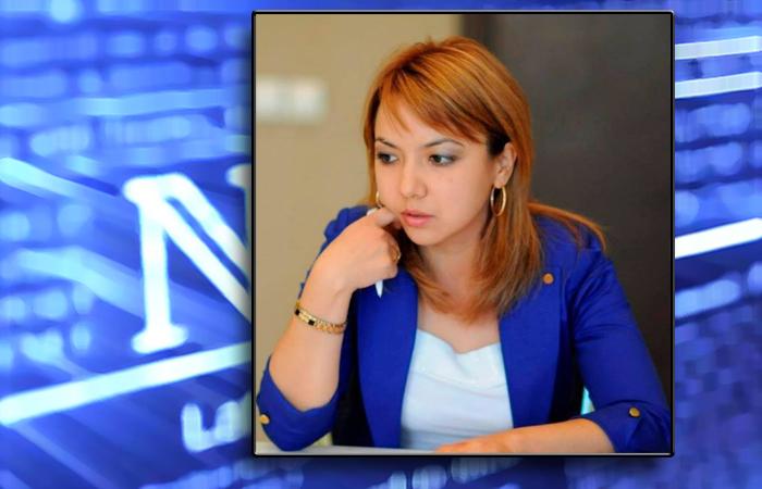 Кандидат политических наук Замира Мураталиева.