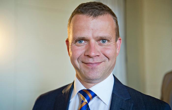 Министр внутренних дел Финляндии Петтери Орпо.