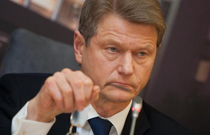 Экс-президент Литвы Роландас Паксас.