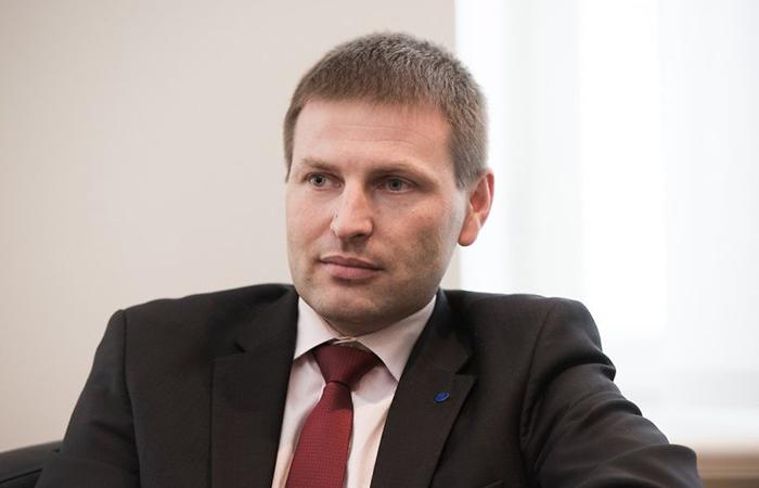 Министр юстиции Эстонии Ханно Певкур.