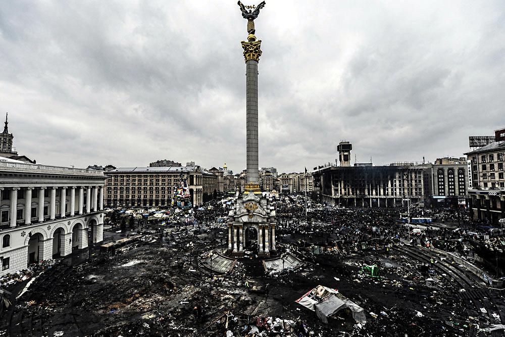 После Майдана. Фото AFP.