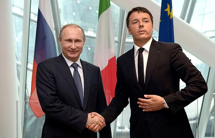 Италия: Миссия Путина – вывести Россию из международной изоляции