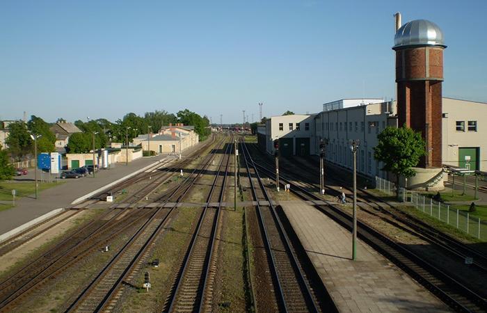 Станция Радвилишкис.