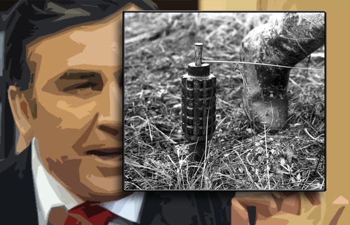 Саакашвили похож на солдата, наступившего на мину, – СМИ Грузии