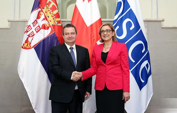 Ивица Дачич и Тамар Беручашвили.