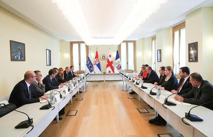 Действующий председатель ОБСЕ проводит встречи в Грузии