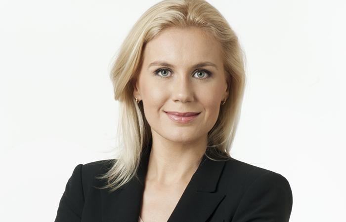 Глава парламентской фракции Центристской партии Эстонии Кадри Симсон.