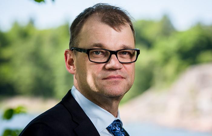 Премьер-министр Финляндии Юха Сипиля.
