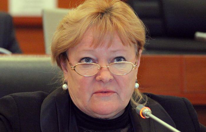 Киргизский депутат Галина Скрипкина.