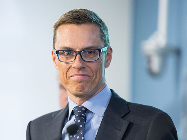 Премьер-министр Финляндии Александер Стубб.
