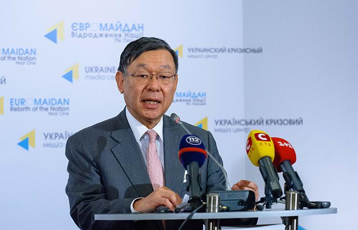Посол Японии на Украине Шигеки Суми.