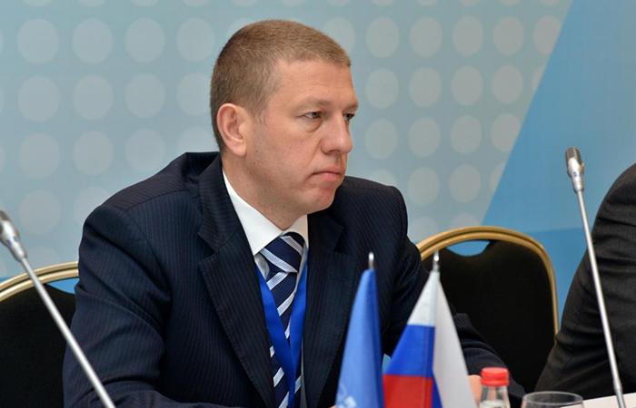 Руководитель Департамента ФМС по работе с иностранными гражданами Сергей Темрякович.