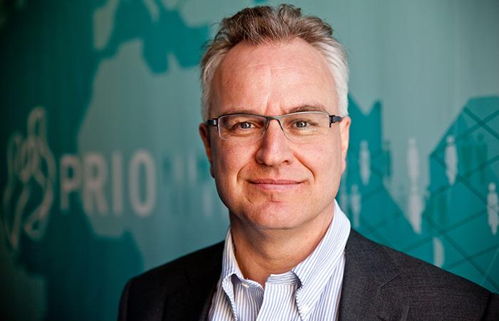 Директор научно-исследовательского института проблем мира в Осло Кристиан Берг Харпвикен.