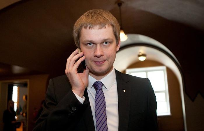 Председатель Финансовой комиссии парламента Эстонии Ремо Холсмер.