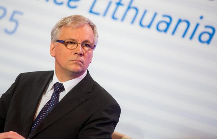 Министр финансов Литвы Римантас Шаджюс.