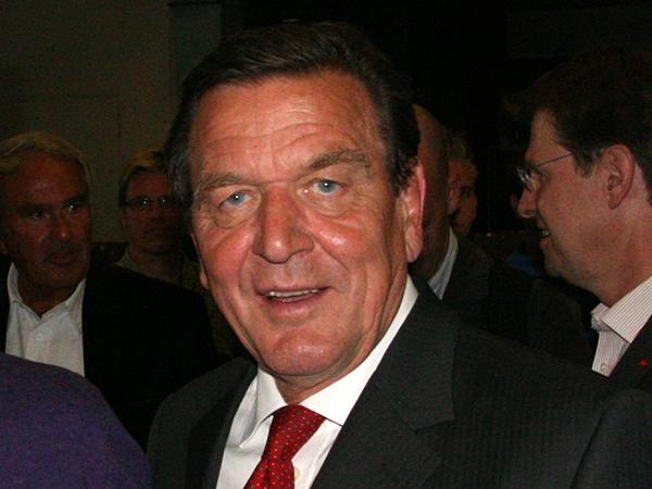 Экс-канцлер Германии Герхард Шредер.