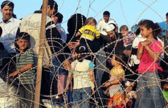 Беженцы из Сирии.